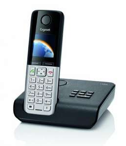 Gigaset C300A Single DECT Cordless Phone with Answer Machine £23 @Amazon