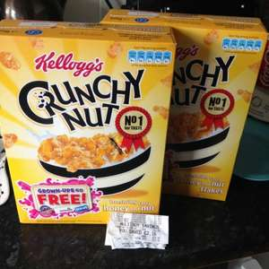 Crunchy nut cornflakes 375g x2 for £2 @ Asda