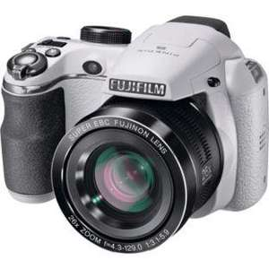 Fujifilm FinePix S4300 14MP Bridge Camera - White / £80.99 @ Argos