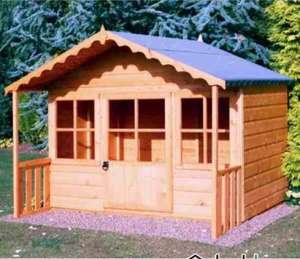 Pixie shire kids wooden playhouse £239.95 @ Shedstore