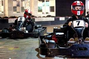 GROUPON -Go-Karting: 60 Laps For One or Two from £17 or 100 Laps from £26 at Ace Karting Plus