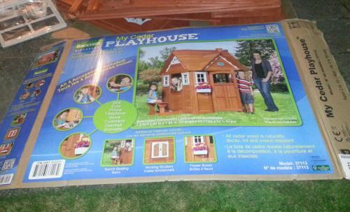Backyard Little Cedar Wooden Playhouse £155.98 @ Costco