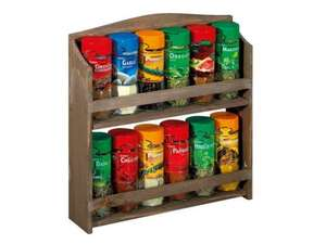 Spice Rack with 12 assorted spices - £9.99 @ Lidl
