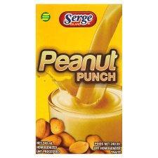 Serge Island Peanut Punch or Egg Nog 240Ml 2 for £1 @ Tesco