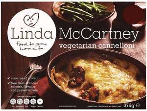 Linda McCartney Vegetarian Cannelloni 2 Packs for £1 @ Farmfoods