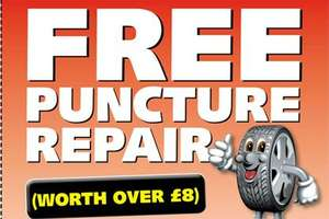 £10 for Car Puncture Repair (using voucher) at National