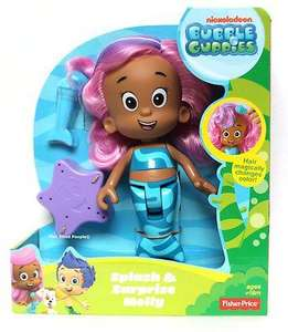 Fisher-Price Bubble Guppies Splash and Surprise Molly £4.99 instore @ ASDA