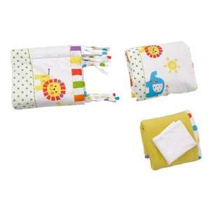 Red Kite 4 Piece Bedding Set (Jungle) nursery bedding £28.50 @ precious little one
