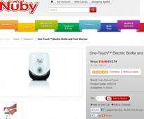 One-Touch™ Electric Bottle and Food Warmer from Nuby just £12.74