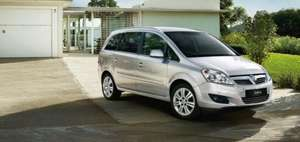 Brand New Zafira Capital 1.6i 16v VVT Special Edition Available now at WJ King from only £10999