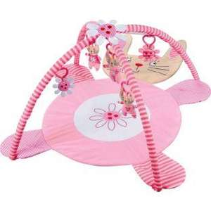 Beanstalk Candy Floss Bunny Rabbit Baby Gym / play mat @ Argos £9.99