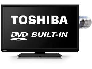 Toshiba 40D1333B 40 Inch DVD Combi 1080P Full HD LED TV With Freeview £304 @ Tesco