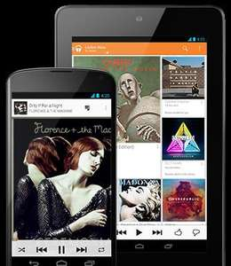 Google play music - all access streaming for £7.99 a month