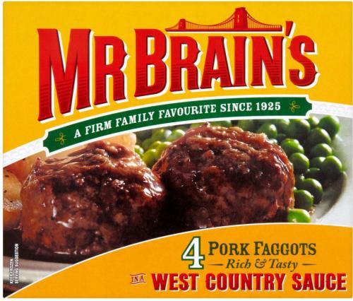 Mr Brain's Faggots - 99p at Lidl - Bostin' fittle!!