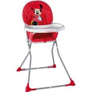 Minnie Mouse Highchair Argos £23.99