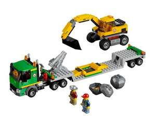 LEGO City 4203: Excavator Transport RRP £46.01 - £16.65 from Amazon