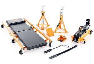 The Halfords 5 piece Lifting Kit £37.49