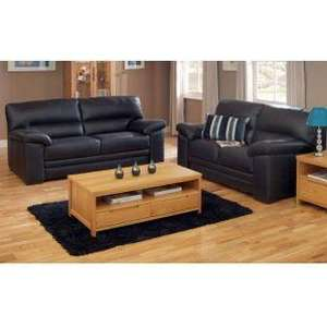 Homebase Piacenza Black 2 & 3 Seater sofa £632.25