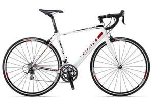 GIANT DEFY 1 2013 WHITE (105) - £845.75 delivered @ Ashcycles