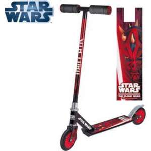 Star Wars inline scooter half price at Argos