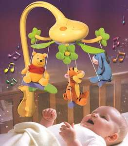 Tomy Winnie the Pooh Swing Time Mobile 12.99 rrp 29.99