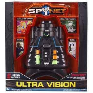 Spy Net Ultra Night Vision Surveillance Goggles £14.99 del @ Amazon (temp oos but allowing you to order )