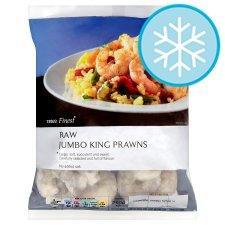Tesco Finest Frozen Jumbo Raw King Prawns 240g 1/2 price now £2.50