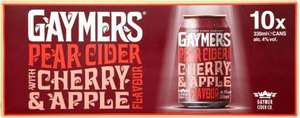 Gaymer's Pear Cider with Cherry & Apple 10 x 330ml £6 @ Tesco