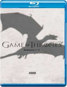 Game Of Thrones Seasons 1-3 Blu Ray £43.99 Using A Code @ Zavvi