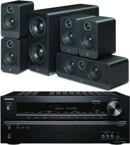 Q Acoustics 2000i 5.1 speaker package and Onkyo TX-NR414 receiver bundle £664.95 @ Audio Affair
