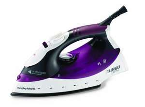 Morphy Richards Turbosteam Steam Iron (Diamond Soleplate) £14.50 @ Amazon