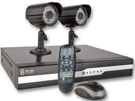 HOME CCTV KIT 500GB ** DVR 2 CAMERA ** 50 Days Continuous Recording £155.98 @ CPC