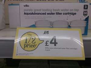 Water Filter Cartridges (3 pack) - Brita Maxtra Compatible £4 @ Wilkinsons