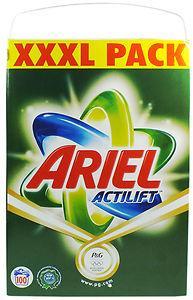 100 wash Ariel Actilift powder £16.99 from poundstrecher