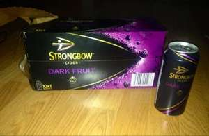 10x Strongbow Dark Fruit - 440ml can for £10.00 @ One Stop