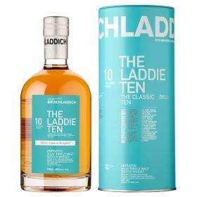 Bruichladdich The Laddie Ten Unpeated Islay Single Malt Scotch Whisky, ASDA, £20