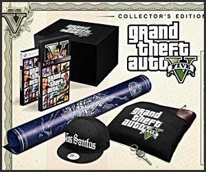 GTA V: Collectors Edition Xbox 360/PS3 - £90 at Tesco Direct