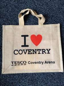 FREE bag in store at Tesco Arena Coventry