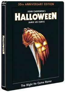 Halloween Steelbook Edition: 35th Anniversary (Blu-ray) £13.64 @ Amazon