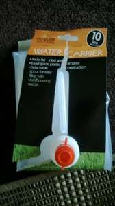 10 Litre Water Carrier £1 @ Poundland