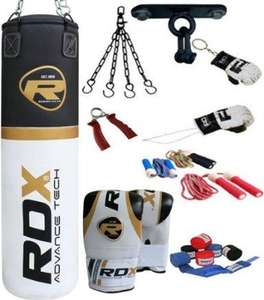 RDX 5 foot Punch Bag with Gloves, Bracket, Fittings and Accesories from B2 Fittness Via Amazon £52.48 delivered