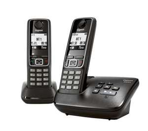 GIGASET A420A Cordless Phones with Answering Machine  Twin Handsets Delivered £19.99 @ Currys