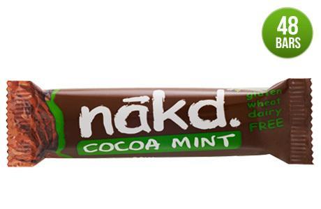 48 Nakd Cocoa Mint Bars (short dated) £16 delivered @ Naturalbalancefoods
