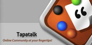 Tapatalk 4 - super launch sale!! $0.99. Was $4.99. Tapatalk 4 now with HD tablet support for less than a dollar! @ Google play store