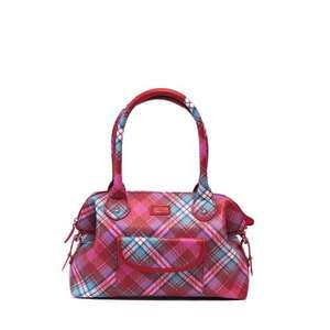 Coated Canvas Tartan bag £24.99 from Ness!