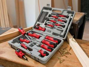 42 Piece Screwdriver Set £7.99@LIDL