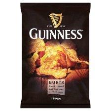 Burts Guinness Hand Cooked Potato Chips 150G £1 @ Tesco