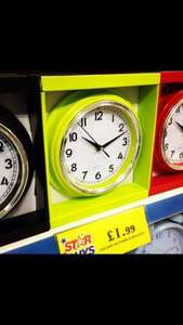 Kitchen clock £1.99 @ Home Bargains