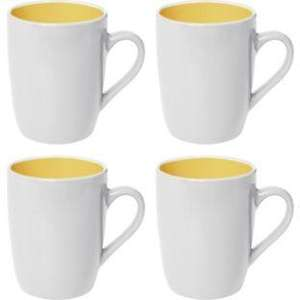Argos ColourMatch 4 Piece Two Tone Mugs From £1.99 (Many Colours)