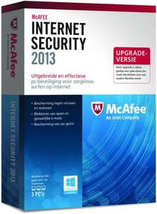 McAfee Internet Security 2013 1 Year FREE Direct from McAfee!